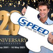 Speed Accelerates to Achieve 20 Year Milestone