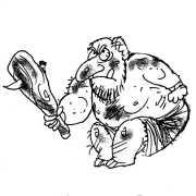 Trolls attack the print industry Berto cartoon rtmworld