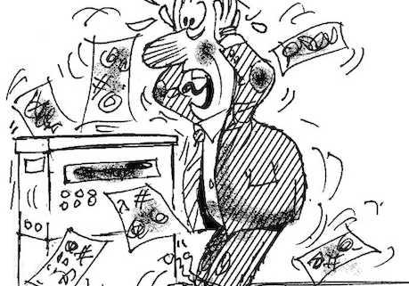 Printer Security Trumped Berto cartoon rtmworld