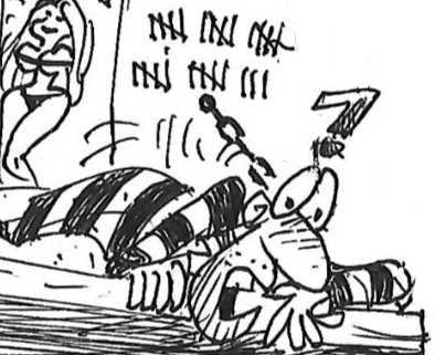 Zero Tolerance for Counterfeiters Berto cartoon rtmworld