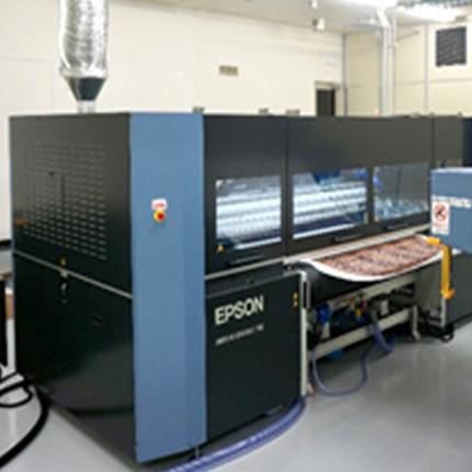 Epson Opens Textile Solutions Center (TSC Asia) - RTM World