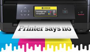 printer says no rtmworld threat HP firmware update