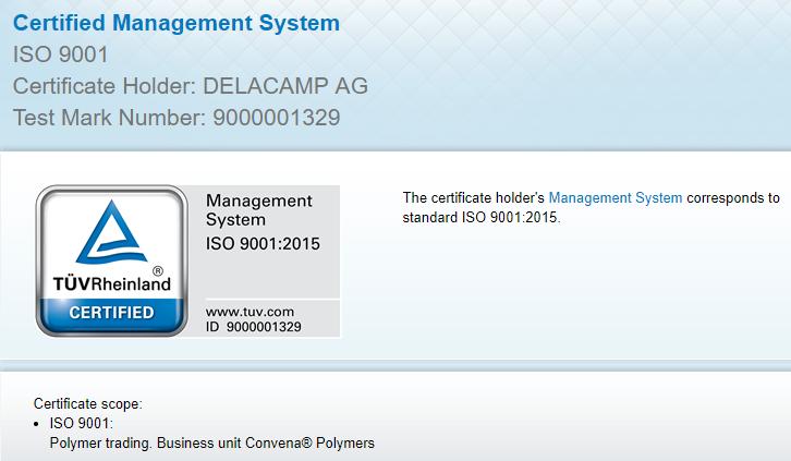 DELACAMP ISO rtmworld