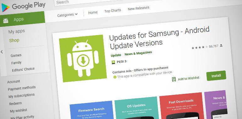 Fake Samsung App Tricks Millions Android Users - RTM World