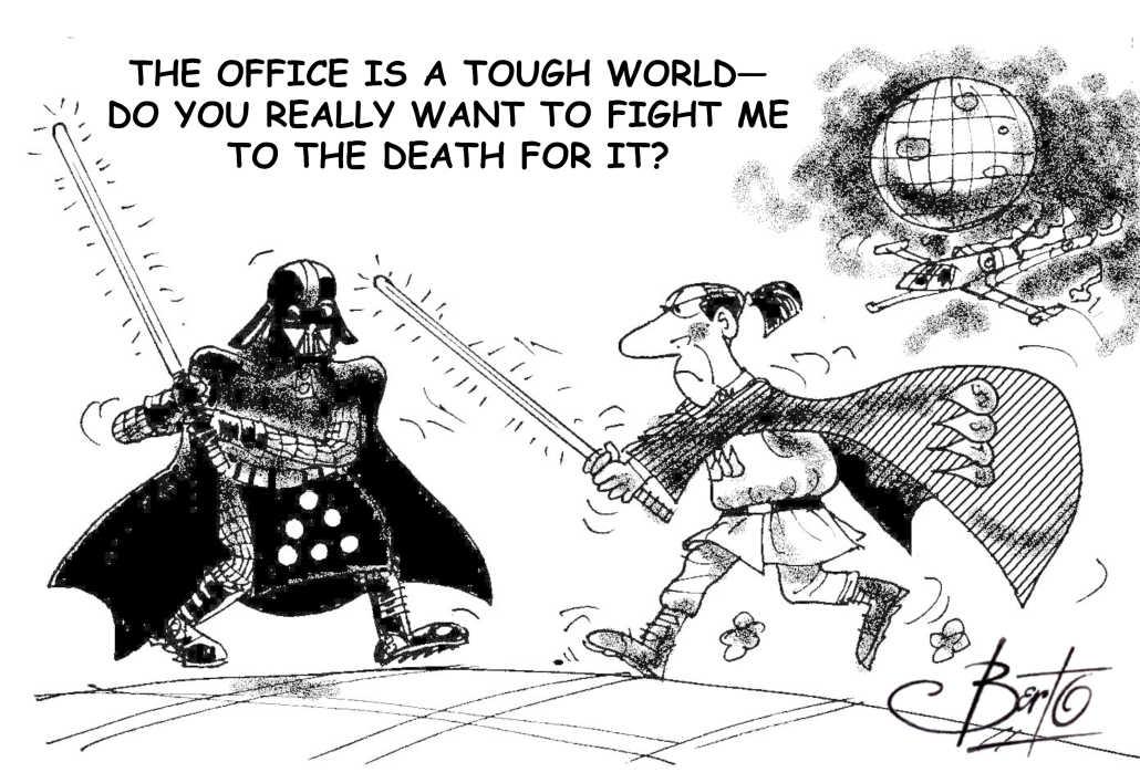 Toner and Ink Star Wars Berto cartoon rtmworld