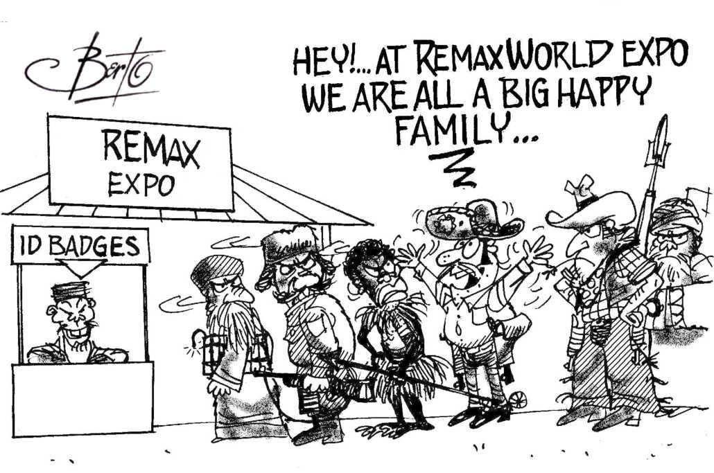 International Buyers Visit RemaxWorld berto rtmworld cartoon