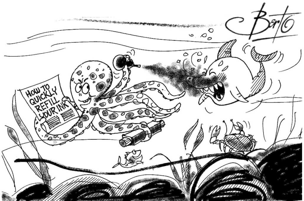 Quick Ink Refill Berto cartoon rtmworld