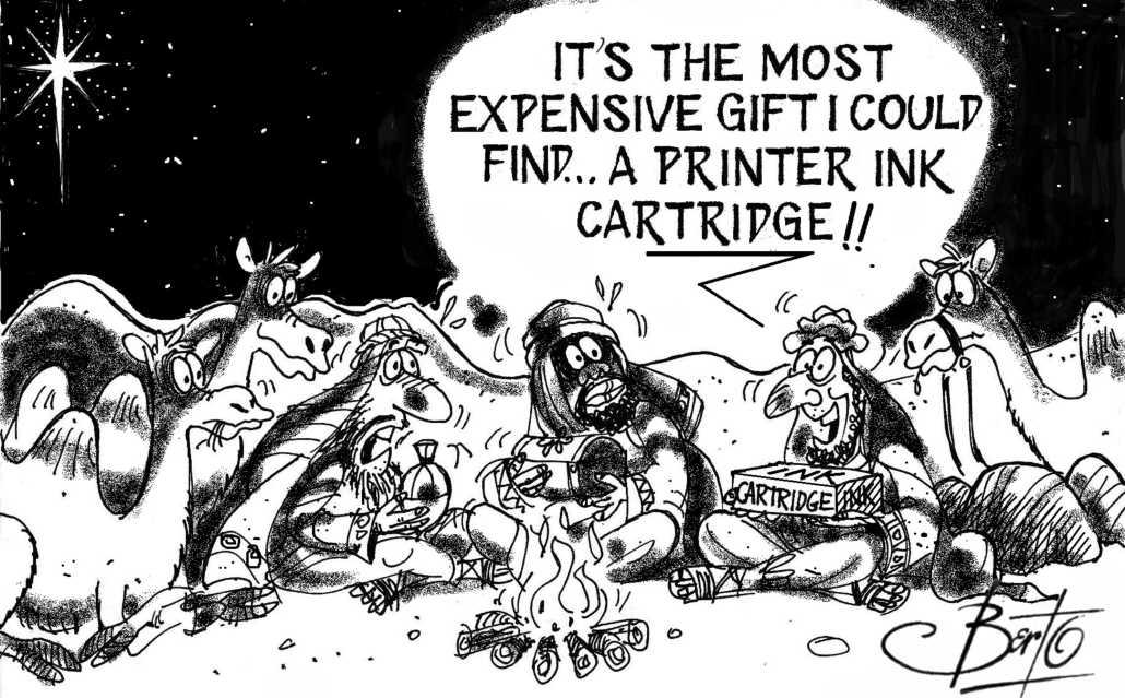 Most Expensive Christmas Gift Berto cartoon rtmworld
