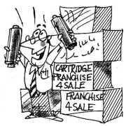 Cartridge Franchise for Sale Berto cartoon rtmworld