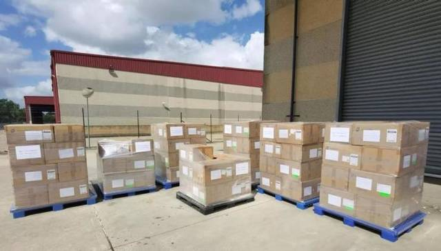 Supplies Donated to Fight Coronavirus rtmworld