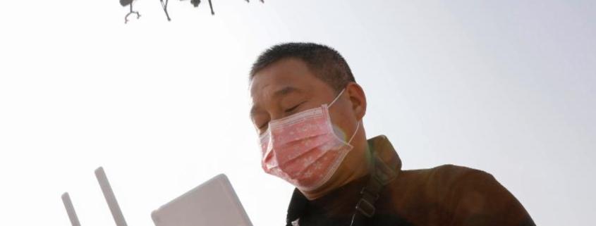 Smart Strategies China Coronavirus Containment drone rtmworld