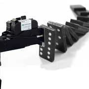 Dominoes Fall with high-quality coding printer rtmworld