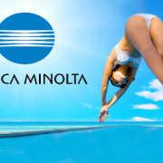 Konica Minolta Takes Big Dive rtmworld