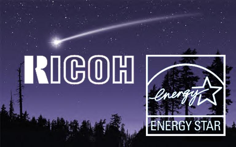 Ricoh Shoots for the Stars - an Energy Star rtmworld
