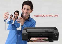 Canon Launches Small Professional Inkjet Photo Printer rtmworld