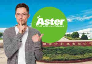 Aster Graphics public company China rtmworld