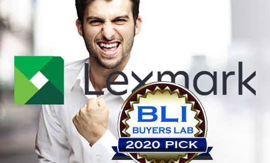 Lexmark Wins BLI Summer 2020 Pick Awards
