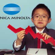 Konica Minolta Revenue Falls 28.4% in Q1