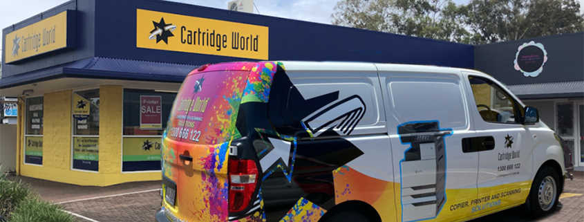 Successful Cartridge World Store Drives Attention
