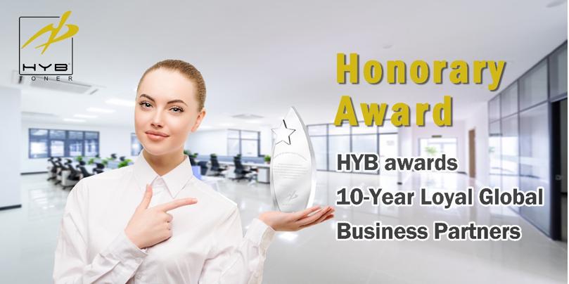 HYB Awards 10-Year Loyal Global Business Partners