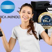 Konica Minolta Won 12 BLI Awards