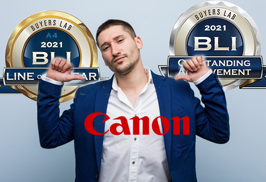 Canon Bags Eight BLI Awards