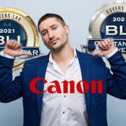 Canon Bags Eight BLI Awards