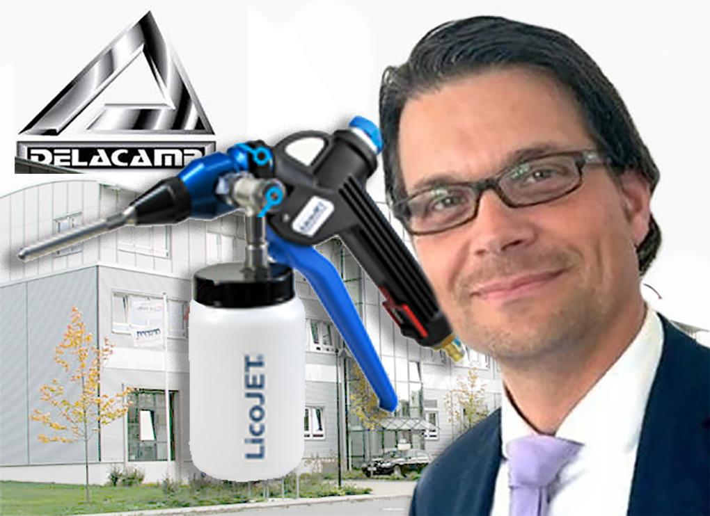 New Delacamp Tool Allows Precise Cleaning Volker Kappius Delacamp