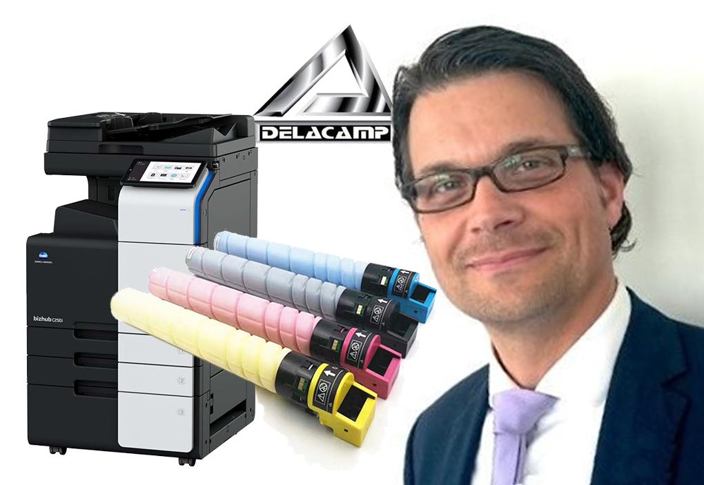 Delacamp Offers Toner for Konica Minolta Remanufacturing Volker Kappius