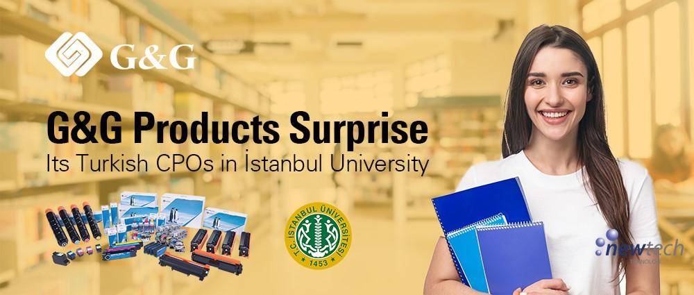 G&G Surprises İstanbul University