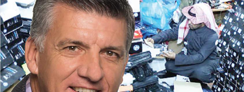Former Detective Helps Confiscate Fake HP Cartridges Glenn Jones rtmworld