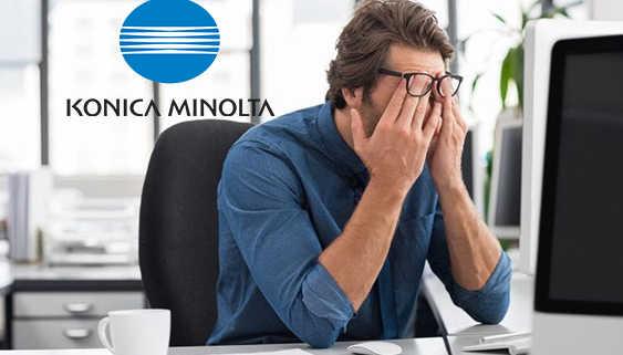 Konica Minolta Suffers Losses in FY 2020