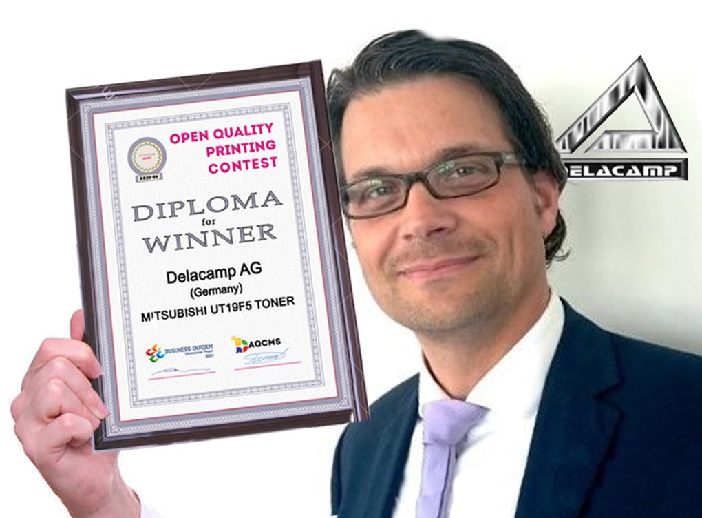 Delacamp Wins Prestigious Quality Printing Contest