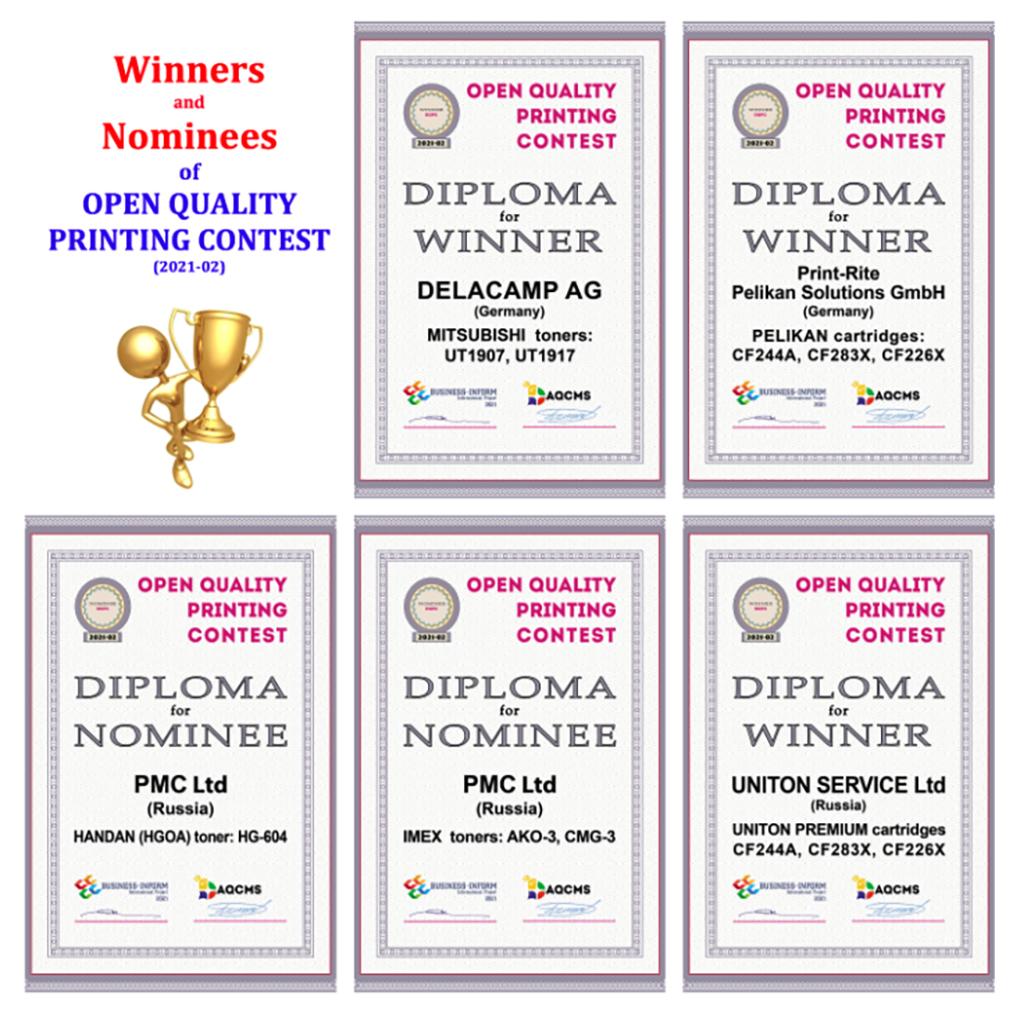 Delacamp and Pelikan Win Russian Quality Toner Contest
