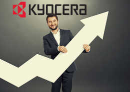 Kyocera Hits Record High in Q1
