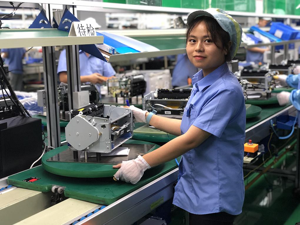 zhuhai Ninestar printer manufacturing