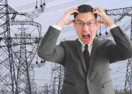 Half of China Switches Off Factory Power Supplies